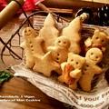 マクロビ ジンジャーブレッドマンクッキー《型抜きスパイスクッキー/乳・卵不使用》