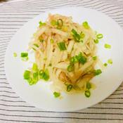 レモン風味の明太子大根サラダ