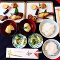 美味しいお餅で澄まし雑煮だよ☆銀鱈の味噌漬け\(゚▽゚=))/