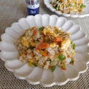 花椒風味夏野菜の炒飯