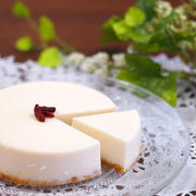 豆乳レアチーズケーキ