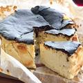 プレーンより好きかもしれません、、、「ブルーチーズのバスクチーズケーキ」