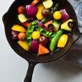 スキレットで 焼き野菜のマリネ