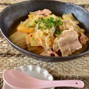 豚肉と白菜のピリ辛味噌煮