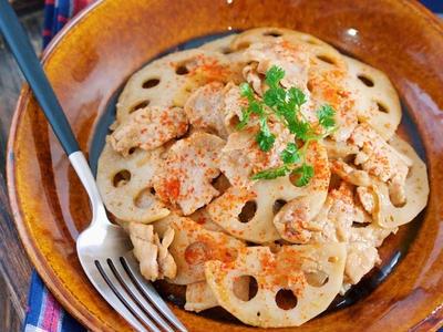 >ご飯がすすむ♪『豚肉とレンコンの甘辛きんぴら』【作り置き*お弁当】と『10分以下でできる作り置き3選』 by Yuuさん