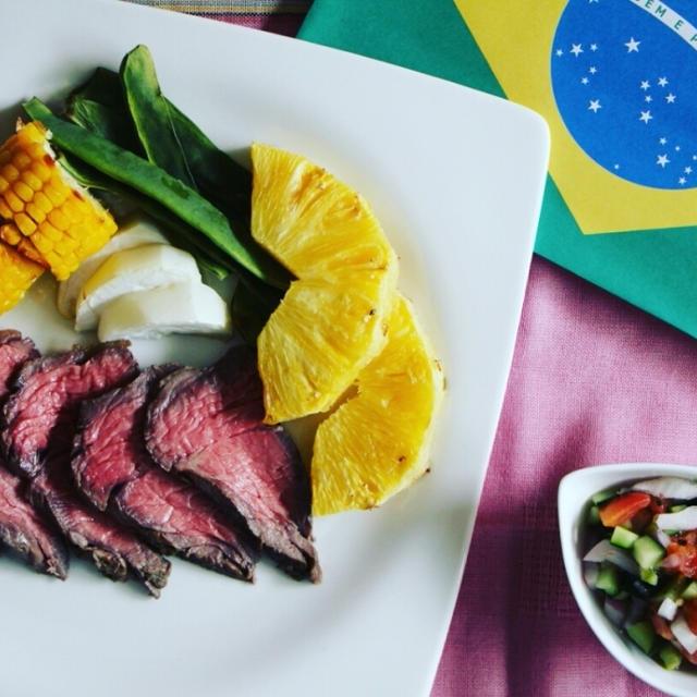 リオ・オリンピックにブラジル料理を食べよう!シュラスコ風ローストビーフ*アメトピに掲載