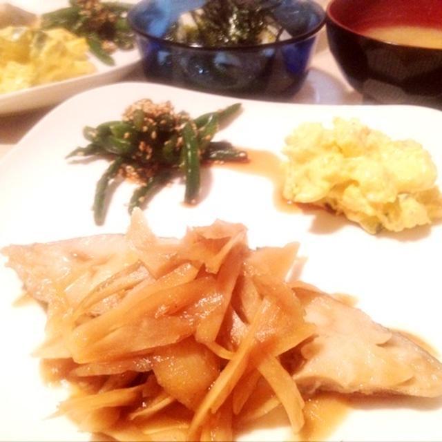 【レシピ】カレイの煮付け