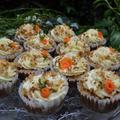 Carrot Cake Cupcakes キャロットケーキカップケーキ