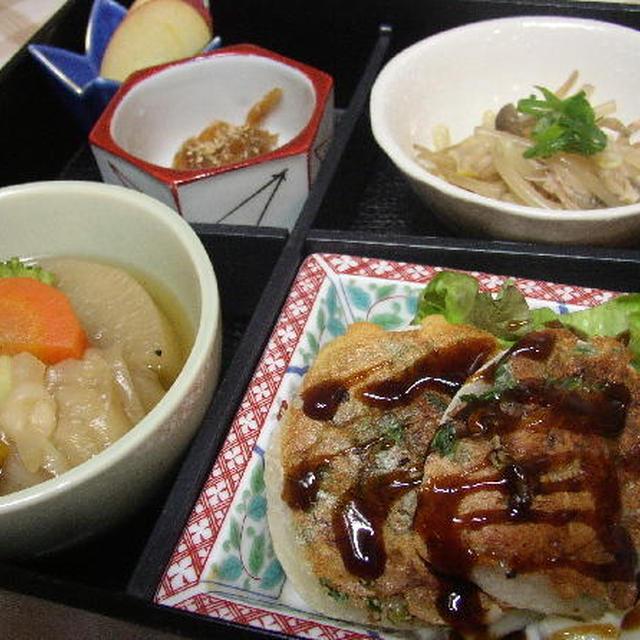 惣菜弁当 『海老天焼き』
