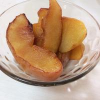 【レシピ】簡単焼き林檎