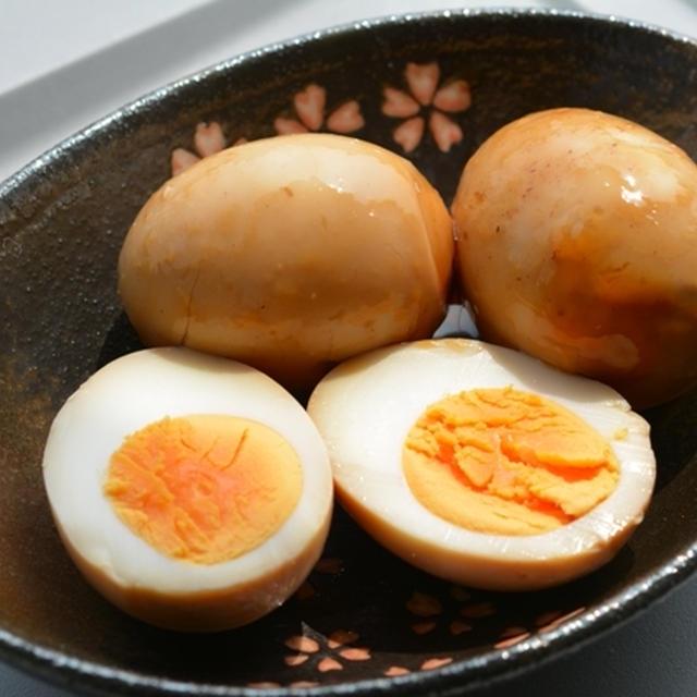 スペアリブの旨煮の煮汁 de 味付け卵