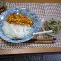 豆腐でドライカレー!