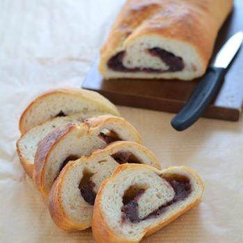 フランスあんパン。【甘じょっぱで美味】