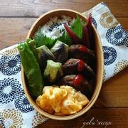 8.20 夏野菜とハンバーグ弁当