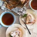 バター不要!ホットケーキミックスで♪りんごの紅茶ケーキ