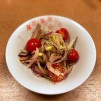 豆もやしとトマトのイタリアンパセリサラダ