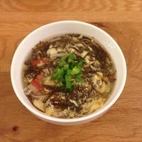 絶対美味しい!もずくのかき玉スープ