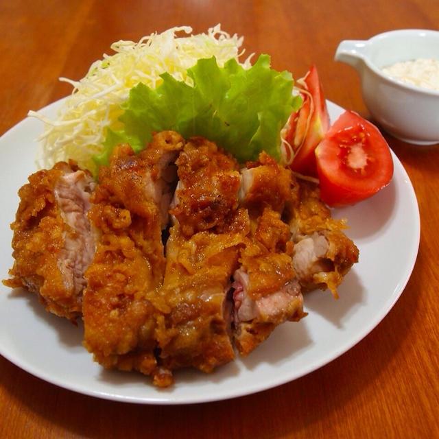 チキン南蛮と卵サンド
