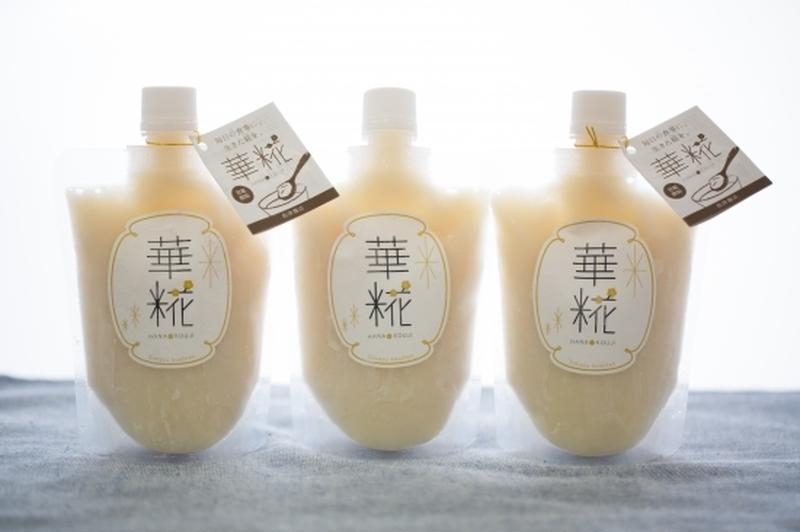 宮城県内ササニシキ1等米100%!麹菌が生きたままの理由は、低温加熱で作られているから。飲み物として...