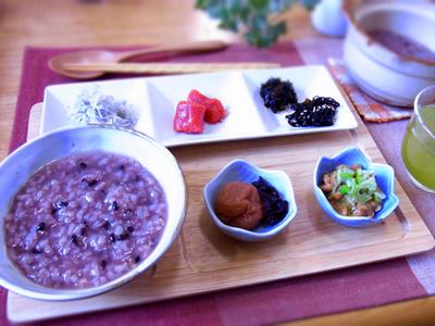 >十六穀米入りおかゆ & 風邪ひきました。。 by マムチさん