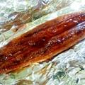 オーブントースターde冷凍からふわふわ鰻の蒲焼