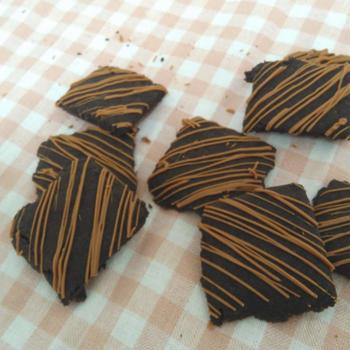 【米粉クッキー③ココア】簡単*グルテンフリー・卵不使用、と逆に恥ずかしい。