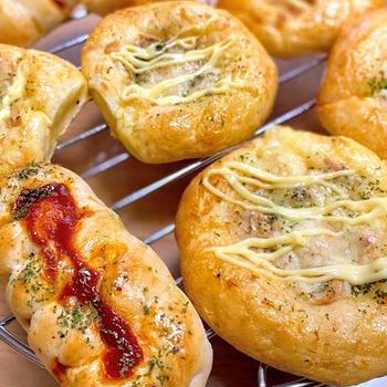 総菜パン2種