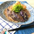 【トロッと食感で免疫力アップ】箸が止まらない‼︎ナスとがんもどきのみぞれ煮♡レシピ