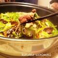 みぃしゃさんの日本酒「大七」で鴨鍋