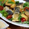 鯖のカレー風味フライ マヨソース
