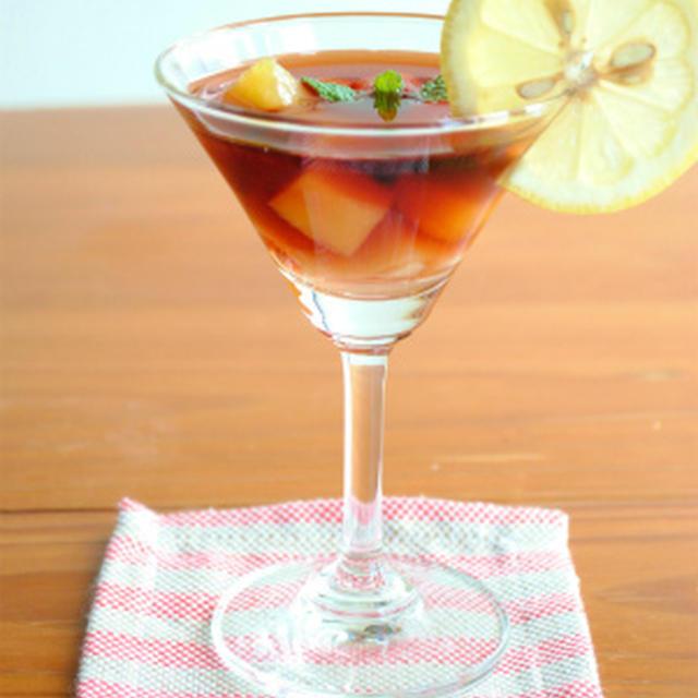 フルーツ缶詰で作る♪超簡単!美味しいサングリア〜マイナビニュースに掲載〜
