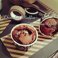 ♡カカオ70チョコ&ミルクチョコde作る♪いちごマシュマロ入り♡男前濃厚チョコレートマフィン♡