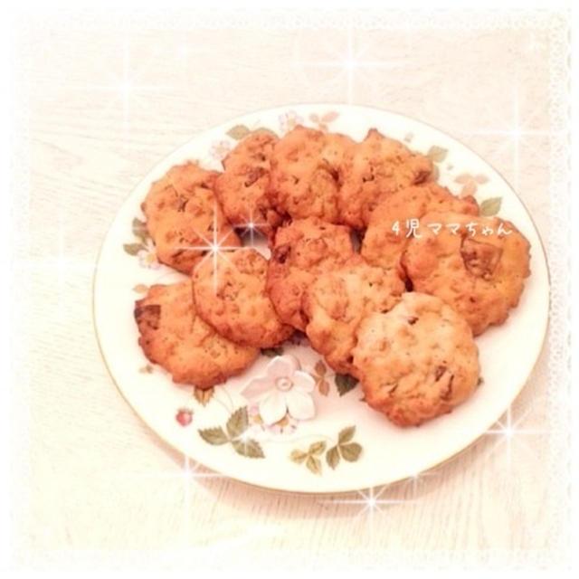 コーンフレーク&チョコチップクッキー☆レシピ
