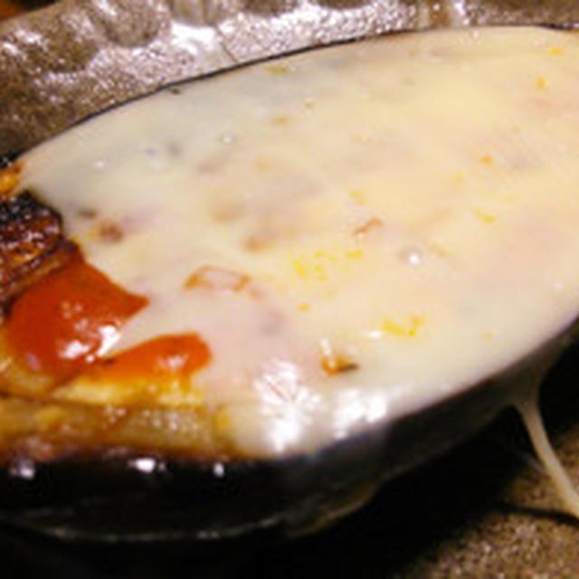 米茄子のチーズ焼き