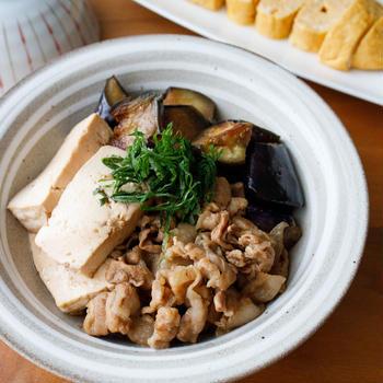 なすがとろっ!『なす肉豆腐』