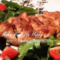 鶏もも肉deコク旨☆照り焼きチキン by ジャカランダさん