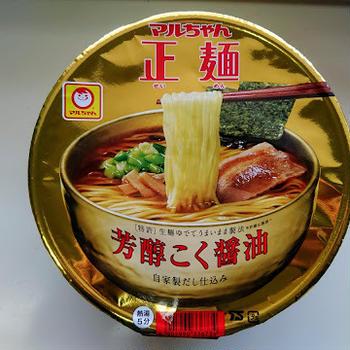 芳醇こく醤油(マルちゃん正麺)