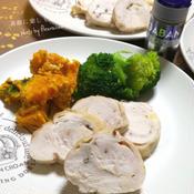 鶏むね肉のシンプルロールハム