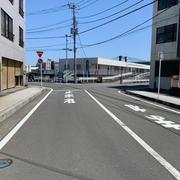 早川から小田原駅に向かって歩いて移動