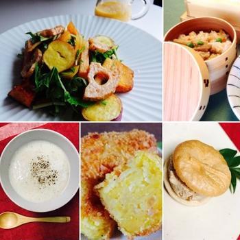 kuriya大村秋の食材を楽しむレシピ