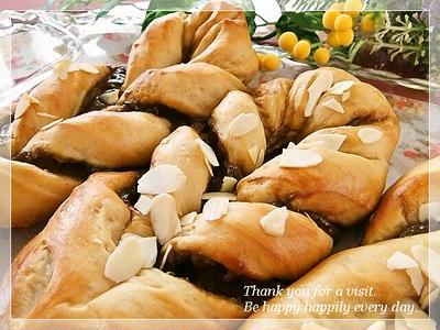 コーヒークリームねじりパン♪(レシピあり)