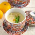 湯葉と鶏そぼろの茶碗蒸し