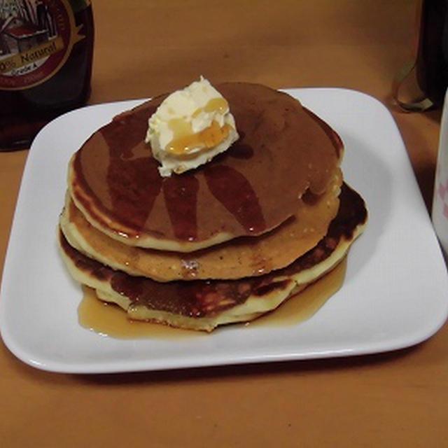 ホシノ酵母でふわふわパンケーキ~♪