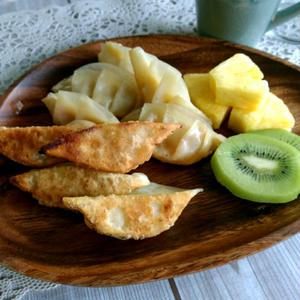 バナナ餃子
