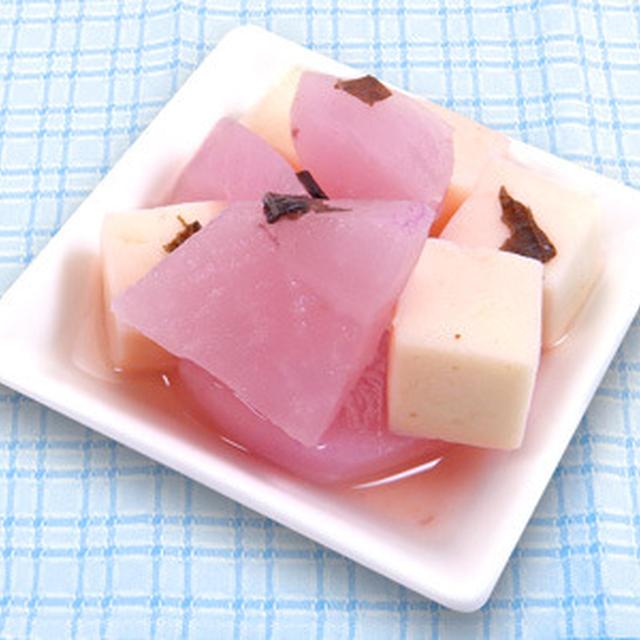 ☆梅酢大根と豆腐の和え物☆