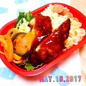 ★お弁当の日②〜母の日♪長崎トルコライス弁当〜☆