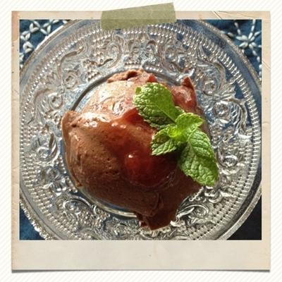 お豆腐ショコラムース