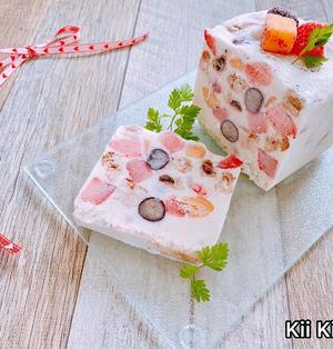 調理時間10分!振るだけ♪簡単アイスケーキ
