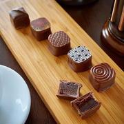 【レシピ】コーヒーガナッシュのボンボンショコラ*2019