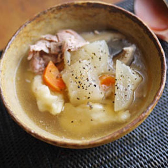 団子入り冬瓜のスープ